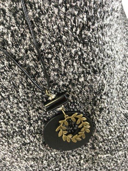 Bluzka melanż czarnobiała