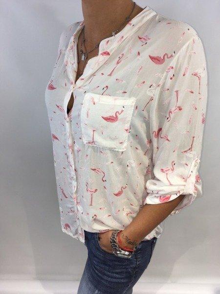Koszula flaming jasny róż