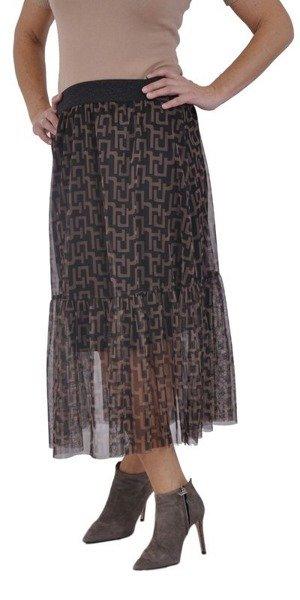Spódnica tiulowa z falbaną