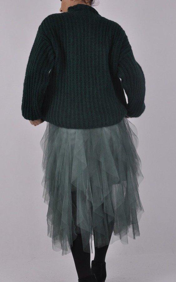 Spódnica tiulowa zielona