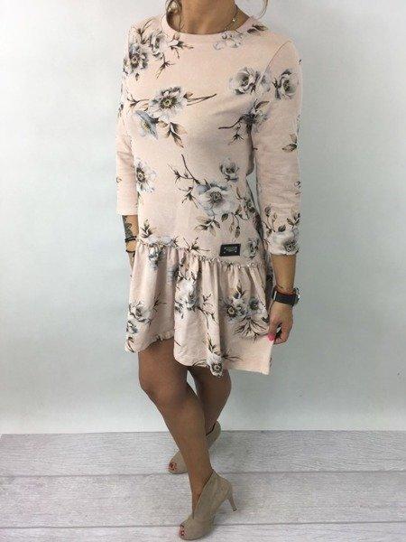 Sukienka kwiaty róz