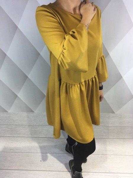 Sukienka miodowa