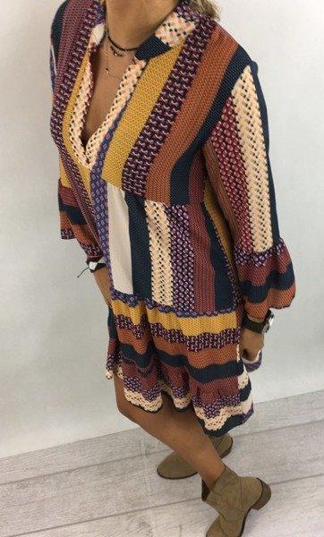 Sukienka wzór kamel