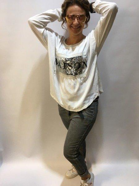 bluzka biała maeson