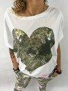 Bluzka serce
