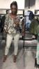 Cudownie gatunkowa bluzka w szare literki