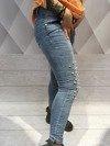 Spodnie jeansy z perłami M